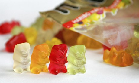 First they are sweet, then they are deadly : Sugarless Gummy Bears