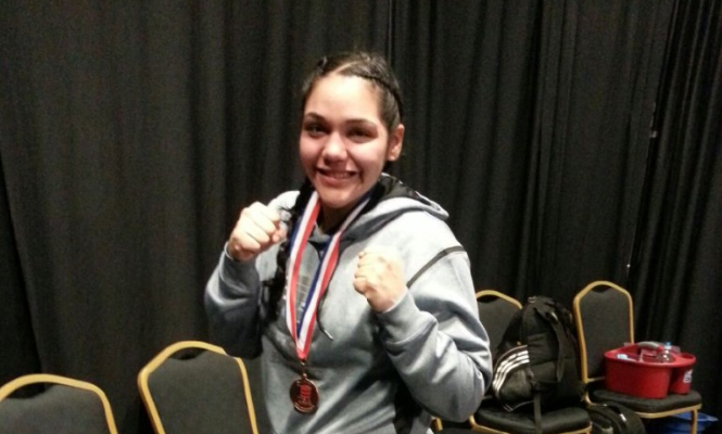 Krystal Correa: The Slugger