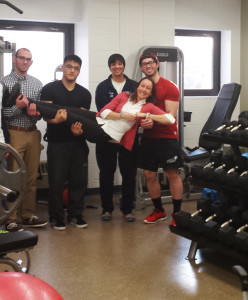 Exercise Science Lab Unveiled At Victory Hall