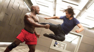 Star Hu Chen duking it out in Man of Tai Chi