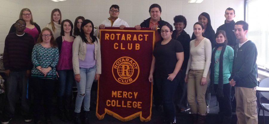 The Mercy College Rotaract Volunteer Club Wins Volunteer Spirit Award