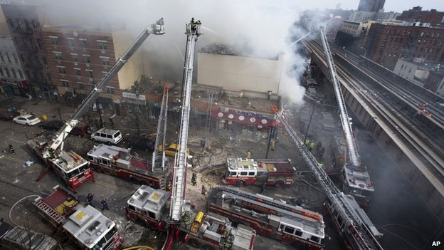 UPDATE - Eight Victims confirmed in Harlem Explosion