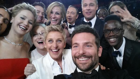 Ellen broke the internet