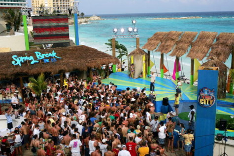 MTV Spring Break In Cancun