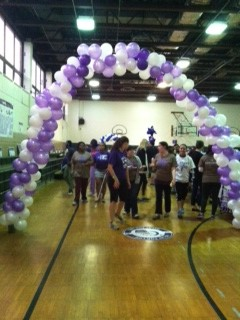 Mercy Holds Third Relay For Life Event