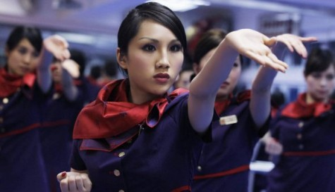 hong-kong-airlines-a-flight-attendant-practices-kungfu