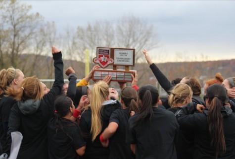 Women's Soccer Wins ECC Championship In Honor Of Fallen Teammate