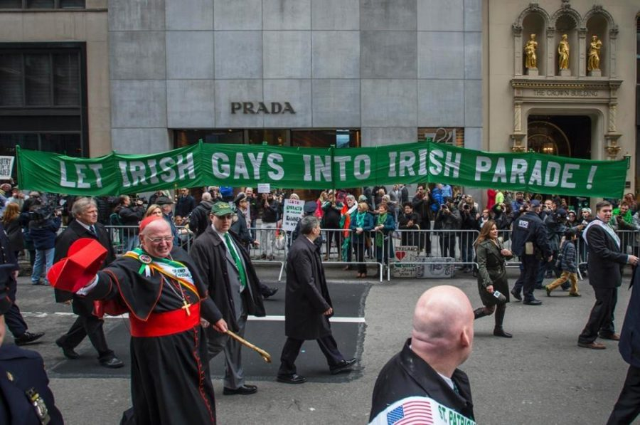 LGBT Marches in NYC St. Patricks Day Parade