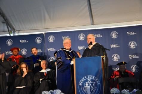 Mercy Community Celebrates Hall's Inauguration