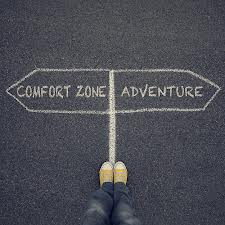 Leaving Your Comfort Zone Behind Isn't Easy