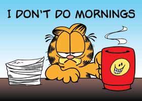 The Morning Struggle