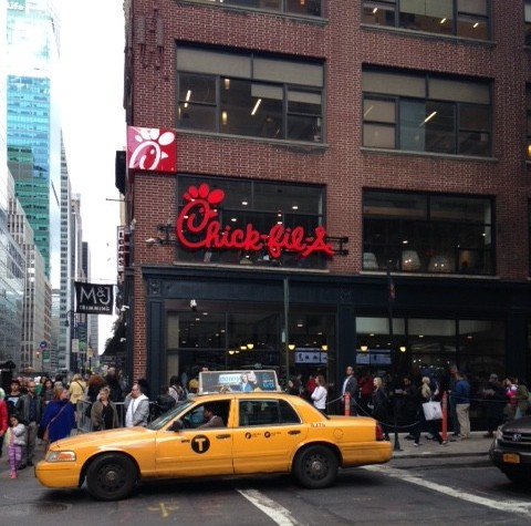My First Time Trying Chick-fil-A