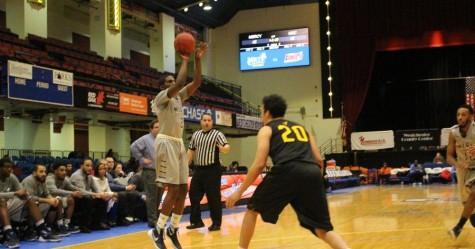 Men's Basketball Wins First Ever PostSeason Game; Falls In Semifinals, 103-102
