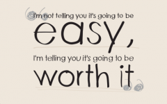 I dont need easy, and I dont need you