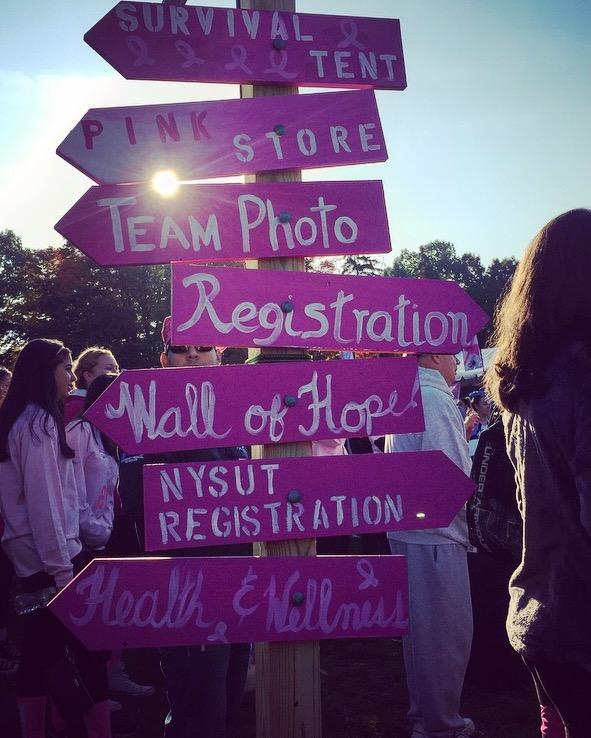Taking Strides Against Breast Cancer