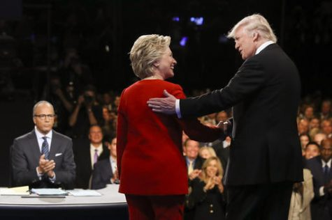 Trump and Clinton Square Off During First Debate