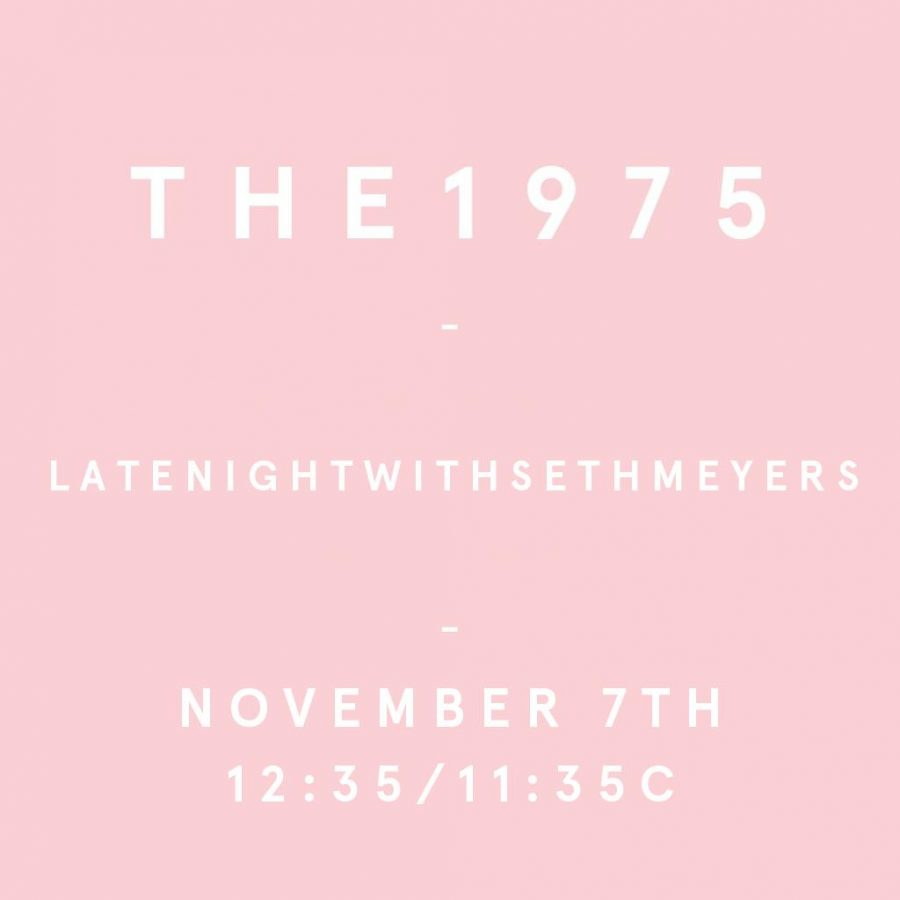 The+1975%27s+Late+Night+with+Seth+Myer%27s+Performance+Review