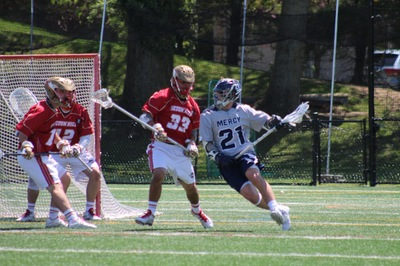 Men's Lacrosse's Speicher Eyes Third Straight ECC Bid