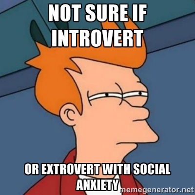 Confessions of an Introverted Extrovert