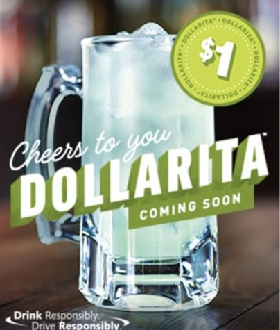 Applebees $1 Margaritas