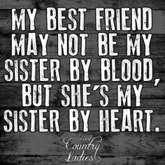 An Ode to Sister Friends
