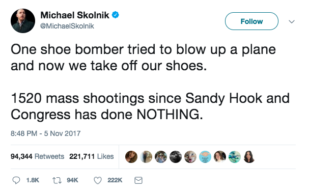 Trump tweets about the wrong mass shooting, gets trolled
