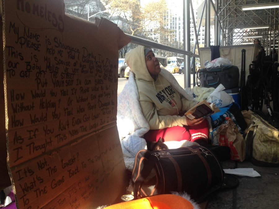 Struggles+Homeless+Females+Face+in+the+New+York+Streets