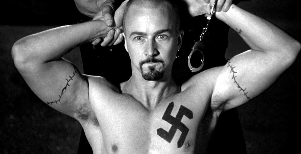 american history x theme Sociological theories in the movie american history x american history x this film encompasses so broad a view of the gripping talons of american racism.