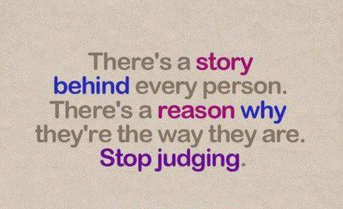 Stop Judging Others The Impact
