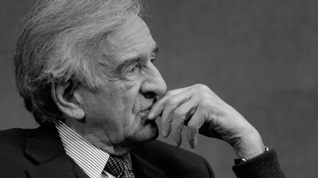 Visiting Scholar Lectures Mercy About the Importance of Elie Wiesel's Work