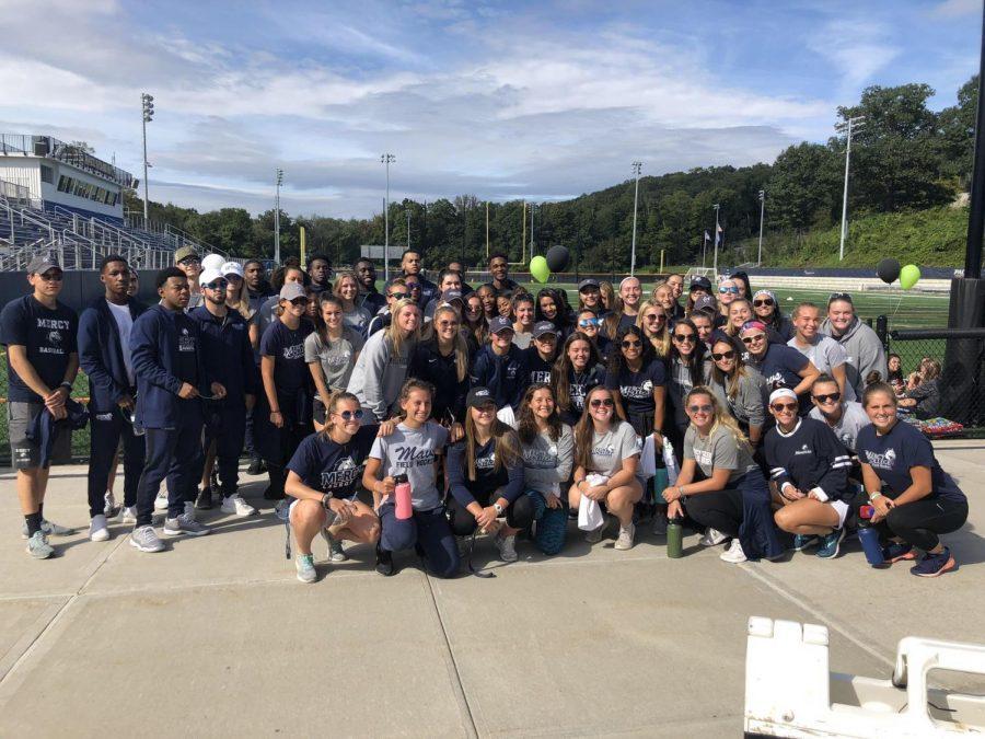 Mercy Athletics Joins First CODA Walk in Westchester