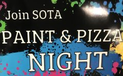 SOTA Host First Paint and Pizza Event For Fundraiser