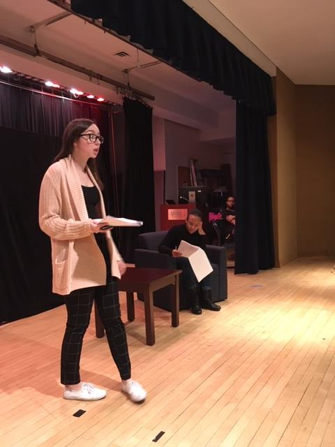 Mercy's Theater Club Holds Staged Reading