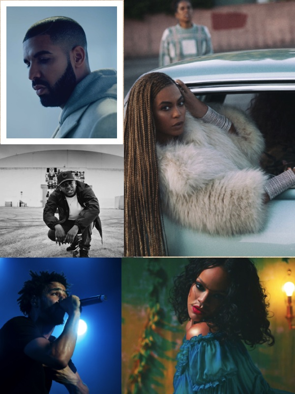 The Top Five Black Artists Right Now
