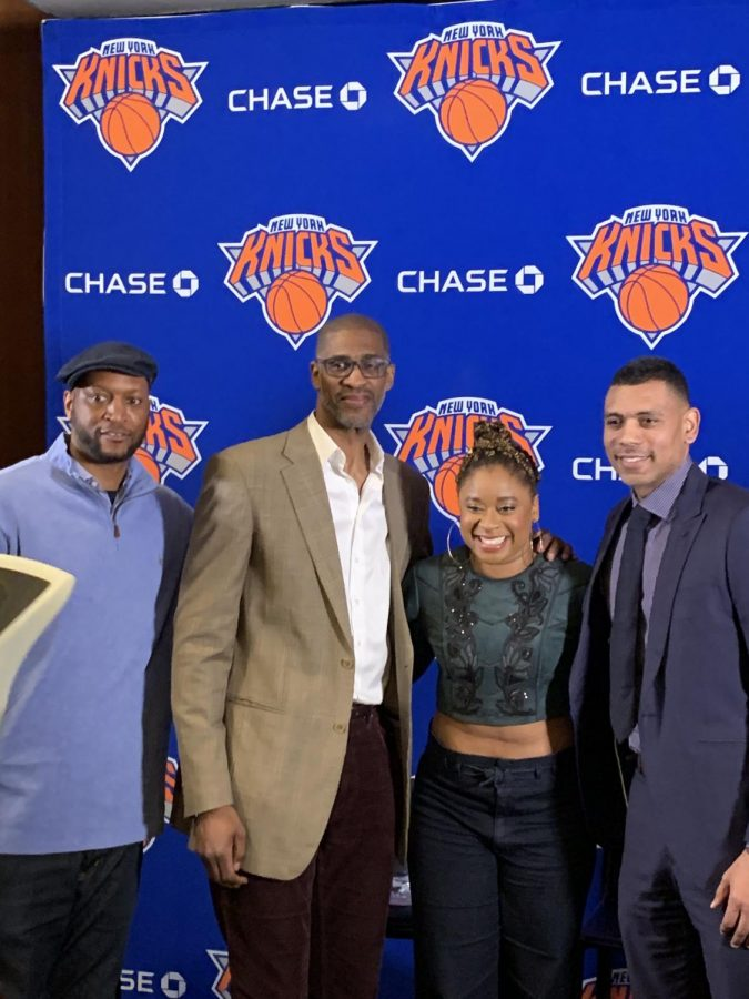 Black+NY+Knicks+Legends%2C+Staff+Come+Together+to+Share+Business+Wisdom