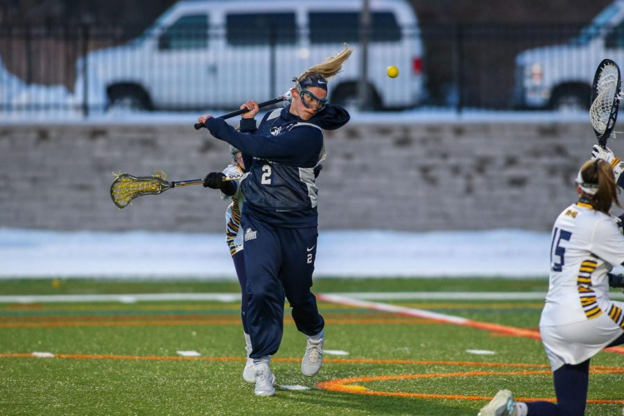 Isnardi Scores Game-High Six Goals in loss to Assumption