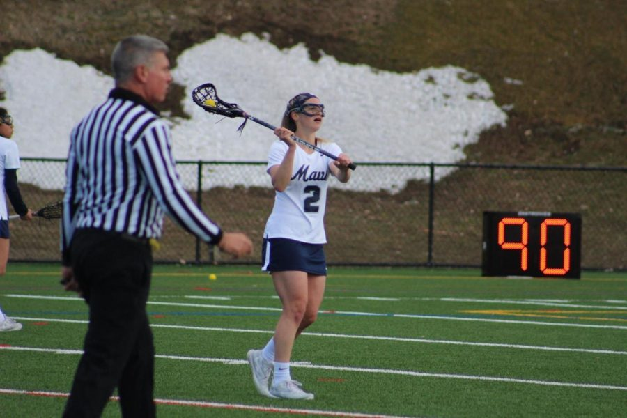 Women%27s+Lacrosse+Comes+Up+Short+In+Overtime+Battle+Against+Bentley