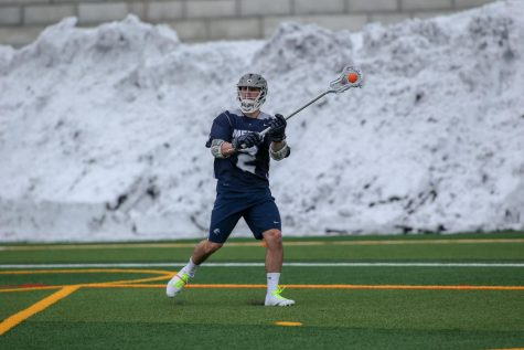 No. 3 Men's Lacrosse Defeats Dominican 18-6 to Improve to 12-0