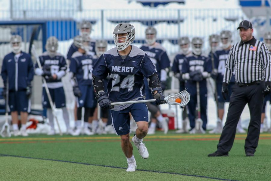 Men's Lacrosse Advances to ECC Championship With A Dominant Performance