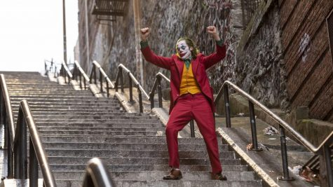Joaquin Takes The Stairs As The Newest Joker