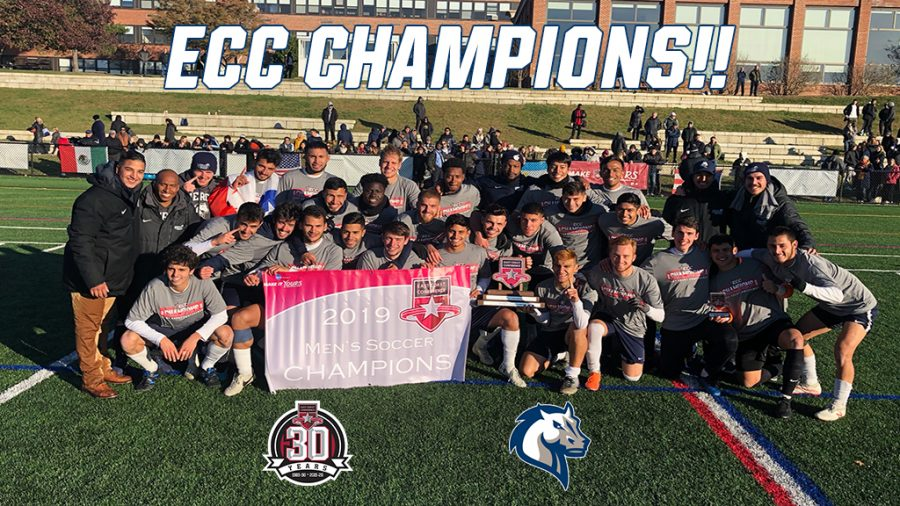 Men's Soccer Wins ECC Title