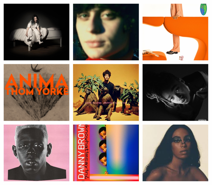 Top 10 Albums of 2019