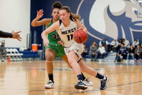 Women's Basketball Earns First Victory Against Holy Family