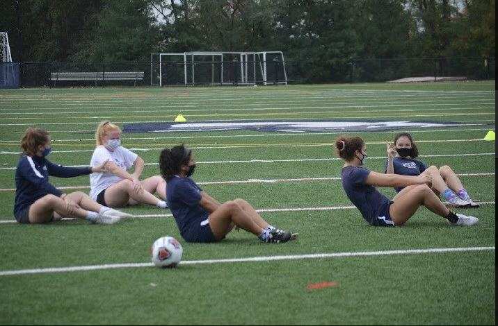 Mercy Women's Soccer: Pandemic Edition
