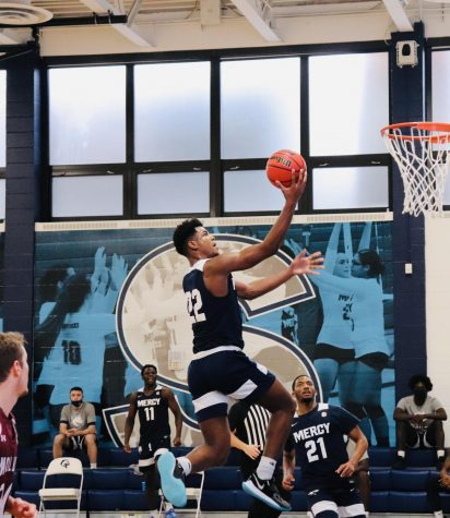 Mens Basketball Splits in Double Header vs. Molloy, Prince Continues to Impress