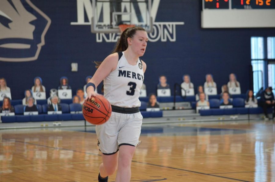 Mercy Women's Team Falls to Molloy College but The Future is Bright