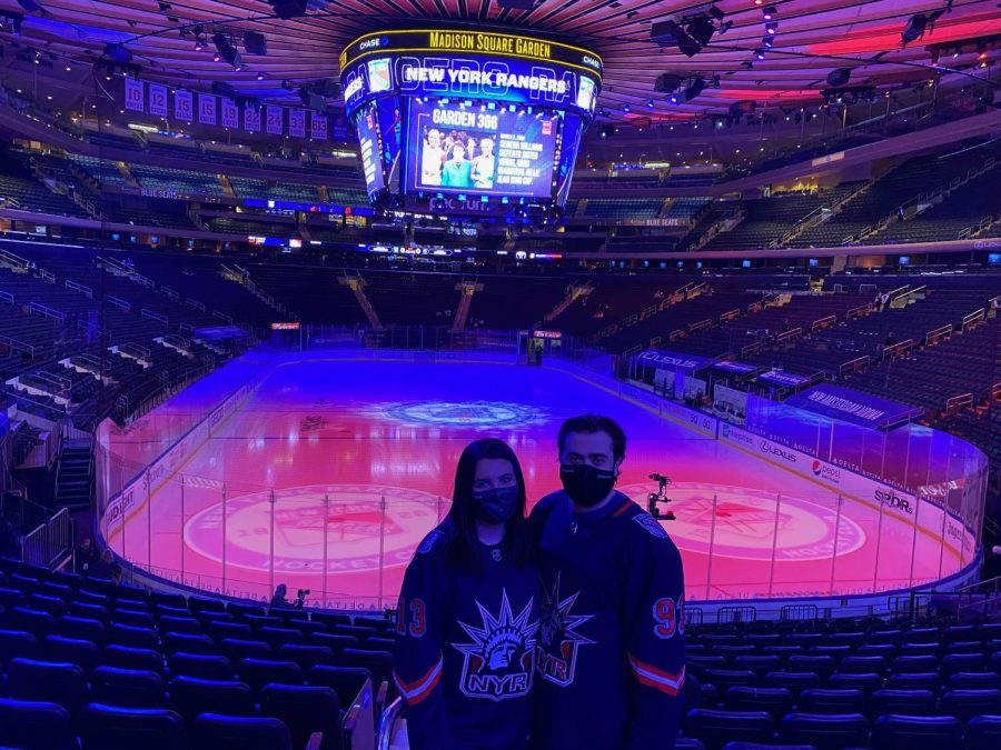 Back At Madison Square Garden