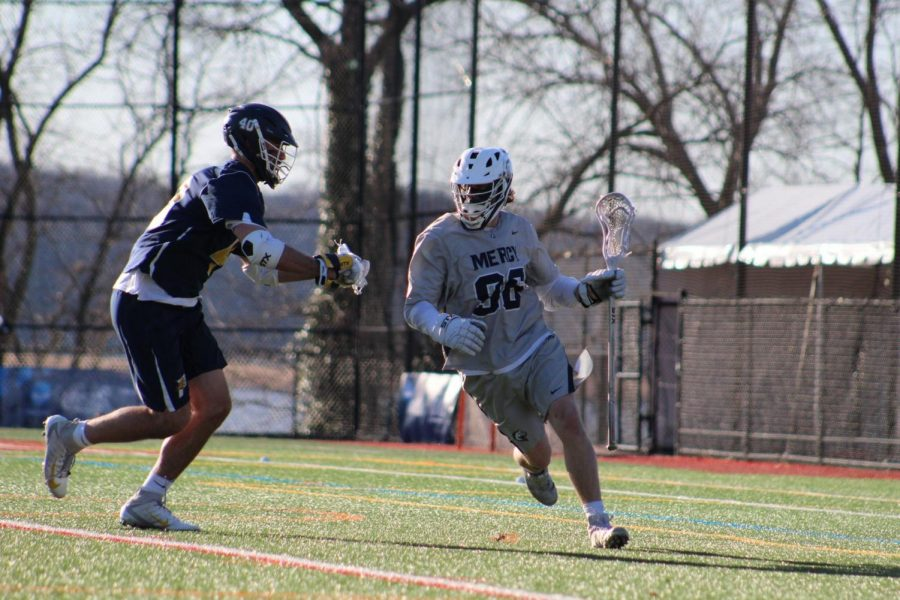 No. 9 Mavs Lacrosse Off to Hot Start After Defeating Dominican College