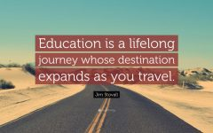 Your Educational Path is Not a Race, It's A Journey